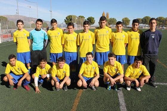 C.D. Vedruna Cadete 2012/2013, actual equipo de Rafa