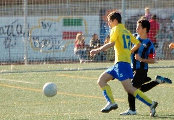 Ignacio logró el único tanto del Juvenil.
