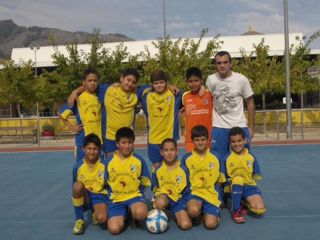 C.D. Vedruna Alevín Fútbol Sala 2013/2014
