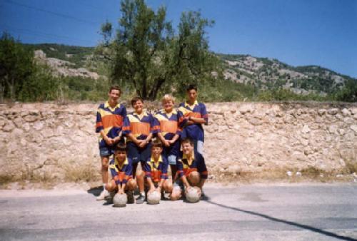 Joselito (el segundo arriba a la izquierda) y Chodi (el primero abajo a la izquierda), dos de los protagonistas de la mañana de hoy, en una imagen de archivo.