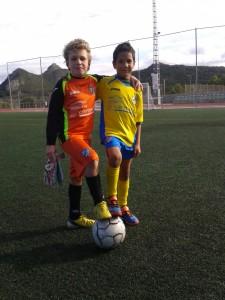 Pau y Diego Prebenjamin