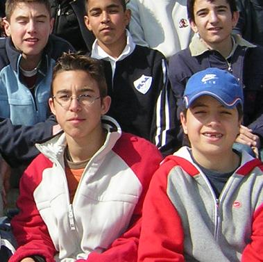 Diego, en la Copa Coca-Cola, en su primera temporada como Vedrunista.