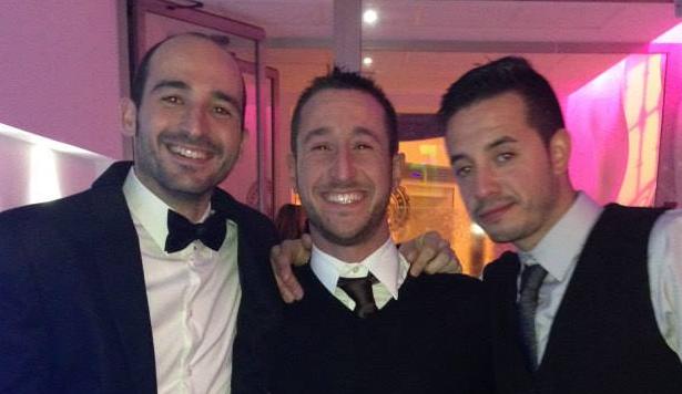 Bas, Pepillo y Oscar, tres de los protagonistas amarillos este último fin de semana.