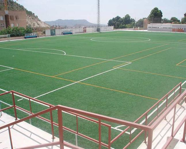 Campo de fútbol del Xixona Esportiu.